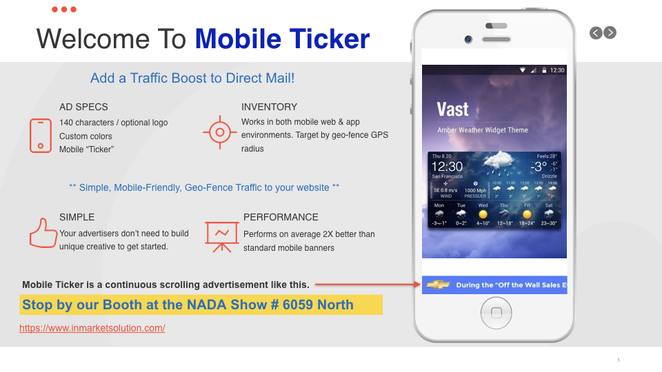 Mobile Ticker Image