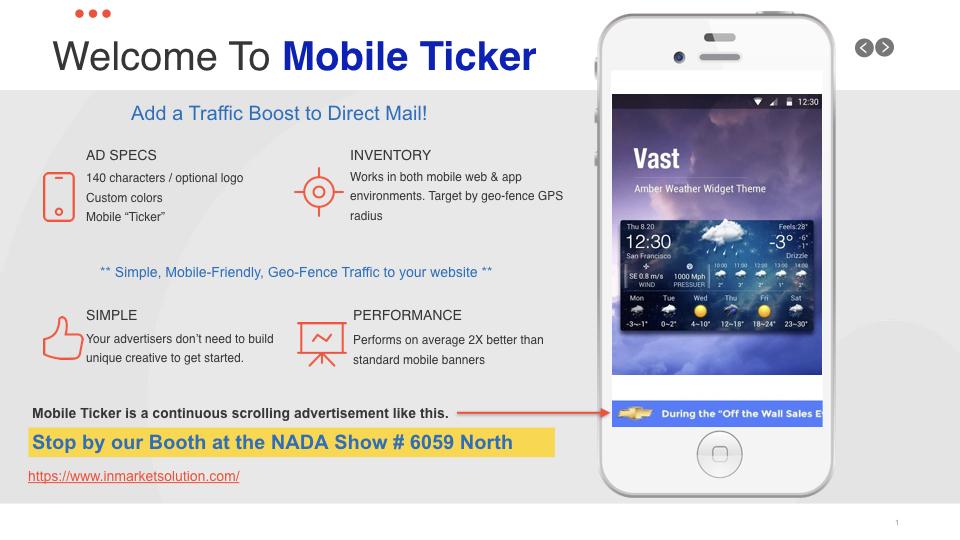 Mobile Ticker Image